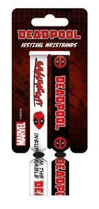 DEADPOOL FESTIVAL WRISTBAND