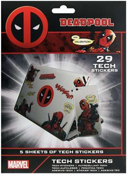 Deadpool Tech Stickers