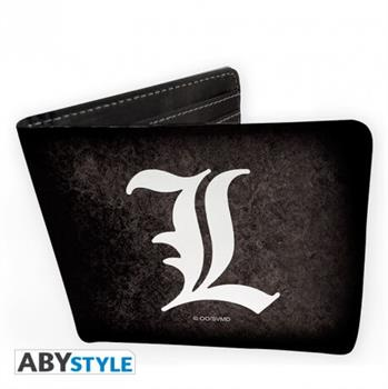 "Death Note - Wallet ""L Symbol"" - Vinyl"