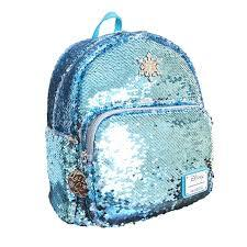 Loungefly: Frozen Elsa Sequin Mini Backpack