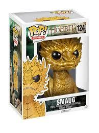 "POP! The Hobbit Smaug 6"" Gold Variant"