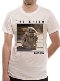 The Mandalorian - The Child Square Photo Tee Small