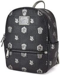 Loungefly: Hogwarts Houses Print Mini Backpack