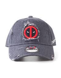 Deadpool Ripped Adjustable Cap