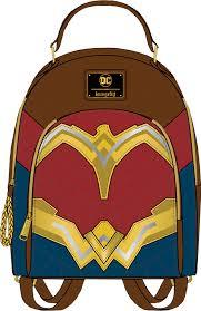 Loungefly: Wonder Woman Faux Leather Backpack