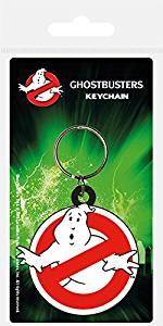 Ghostbusters - Logo Rubber Keychain
