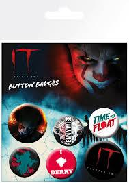 IT Chapter 2 Mix Badge Pack