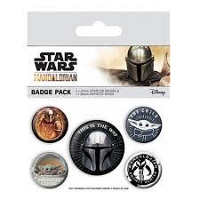 The Mandalorian 'This Is The Way' Badge Pack