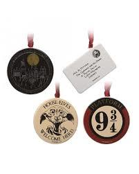 Harry Potter Set Of 4 Decorations