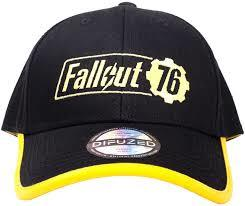 Fallout 76 Yellow Logo Adjustable Cap