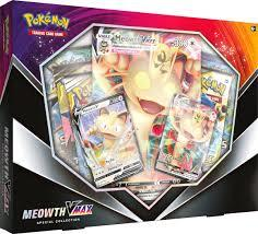 Pokemon TCG Meowth Vmax Special Collection