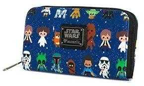Loungefly: Star Wars Char Cutesy Zip Around Wallet