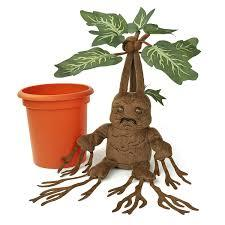 Harry Potter Mandrake Electronic Plush