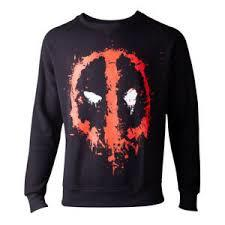 Deadpool - Dripping Face Men's Sweater - Large