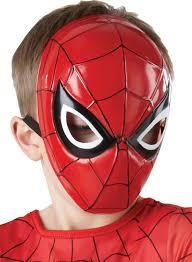Spiderman 1/2 Molded Mask