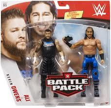 WWE Series 65 Battle Pack: Ali and Kevin Owens