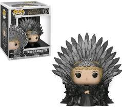 POP Deluxe: GOT S10 - Cersei Sitting on Throne
