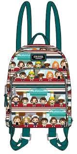 Loungefly: Stranger Things Chibi Leather Backpack