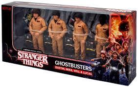 Stranger Things Ghostbusters 4 Pack