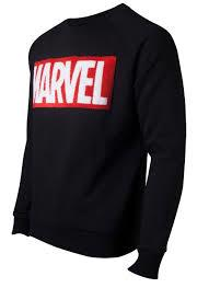Marvel - Chenille Box Logo Men's Sweater -  Medium