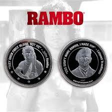 Rambo Limited Edition Coin