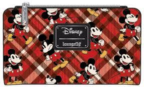 Loungefly: Mickey Mouse Twill Trifold Wallet