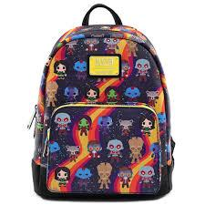 Loungefly: Marvel Guardians Chibi Mini Backpack
