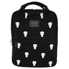 Loungefly: Punisher Canvas Embriodered Backpack