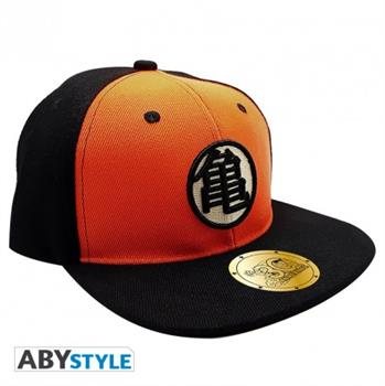 Dragonball - Snapback Cap - Black & Orange- Kame