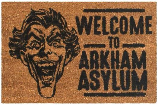 Joker Arkham Door Mat