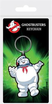 Ghostbusters Stay Puft Rubber Keychain