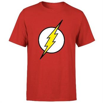 Flash Logo Men's T-Shirt - Red - Medium