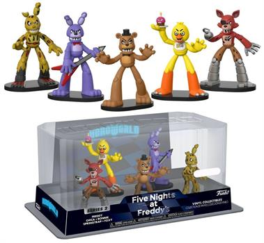 HeroWorld: Five Nights at Freddy's 5 Pack- S2