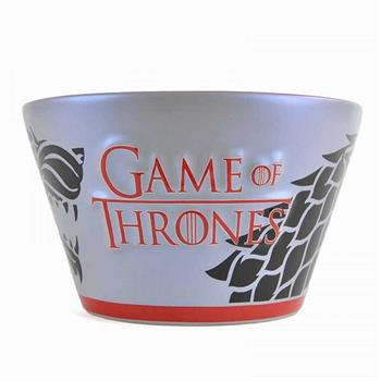Bowl - Game Of Thrones (Stark Reflection Decal)