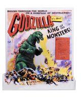 "12"" Godzilla Head To Tail 1956 Movie Poster"
