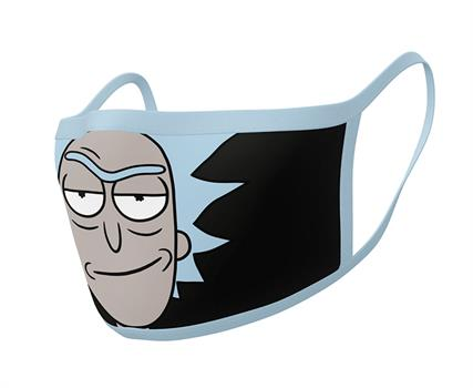 Rick and Morty (Rick) Face Mask - 2 Pack
