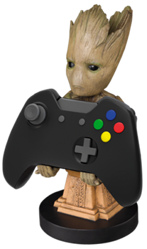 Cable Guy Phone & Controller Holder - Groot