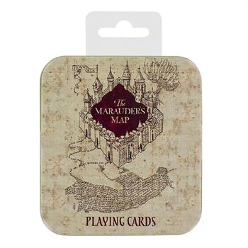 Marauders Map Playing Cards
