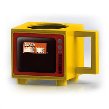 Super Mario Bros Retro TV Heat Change Mug