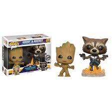 POP: Marvel: GOTG: Baby Groot and Rocket (Double)