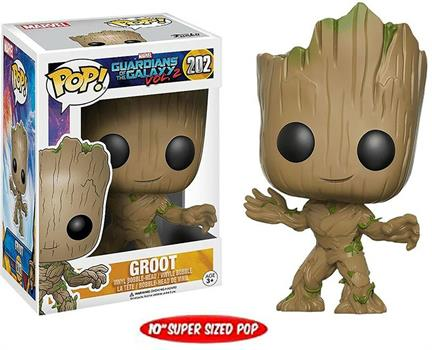 "POP: Marvel: 10"" Lifesize Young Groot"