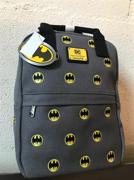 Loungefly: DC Batman Canvas Embriodered Backpack