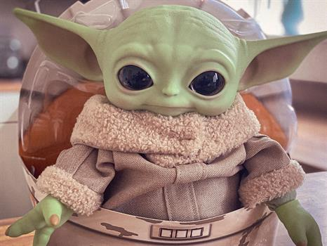 "Star Wars 11"" The Child Plush - Baby Yoda"