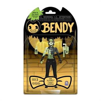 "Bendy & The Dark Revival 5"" GitD Figure Ink Audrey"