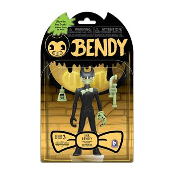 "Bendy & The Dark Revival 5"" GitD Figure -Ink Bendy"