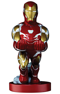 Cable Guy Phone & Controller Holder Iron Man Endga