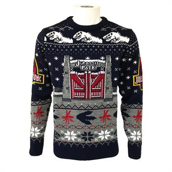 Jurassic Park - Gates Christmas Jumper - Large