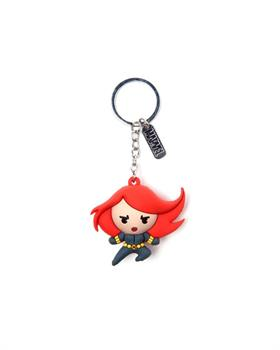Marvel - Black Widow Character 3D Rubber Keychain