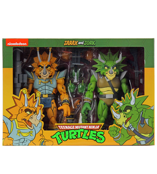 "7"" TMNT Cartoon Captain Zarax & Zork 2-Pack Figure"