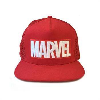 Marvel - Logo Embroidered Snapback Cap